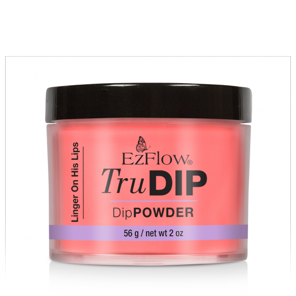 Prah u boji za nadogradnju Dipping tehnikom TruDIP EZFLOW Linger on His Lips 56g