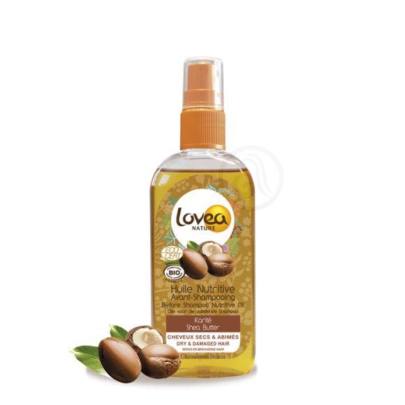Hranljivo ulje pre šamponiranja LOVEA Shea Butter 125ml