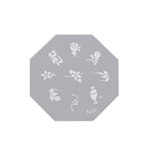 Šablon disk za pečate osmougaoni ASN M70
