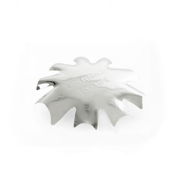 Metalni šabloni za francuski manikir u akrilnoj tehnici EASYF-01