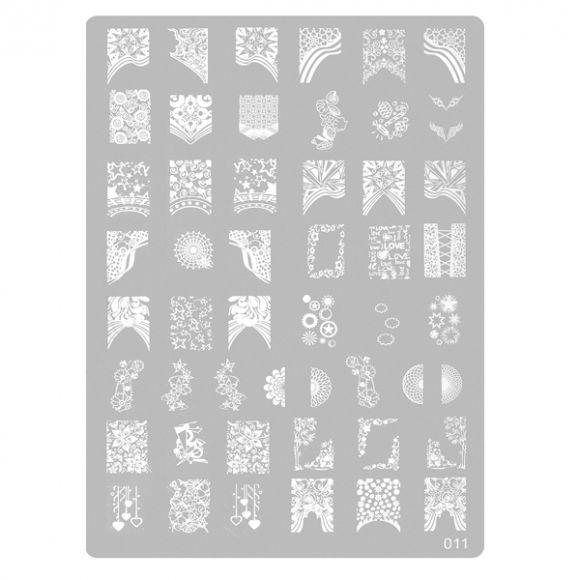 Šablon tabla za pečate PMAG2 11