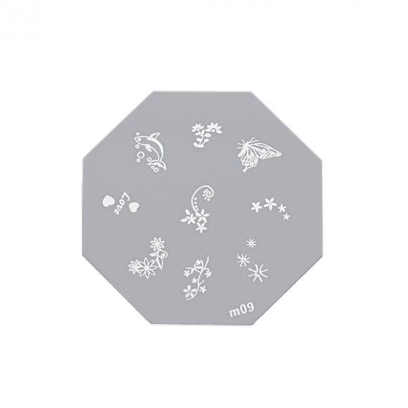 Šablon disk za pečate osmougaoni ASN M09
