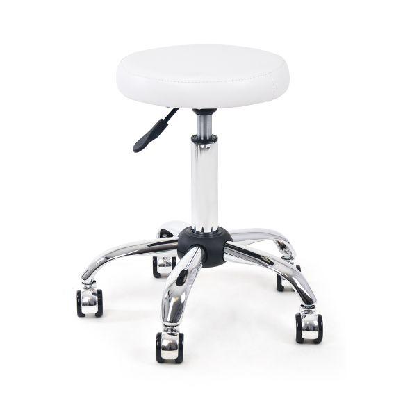 Pomoćna radna stolica Y883 sa podešavanjem visine bez naslona za leđa