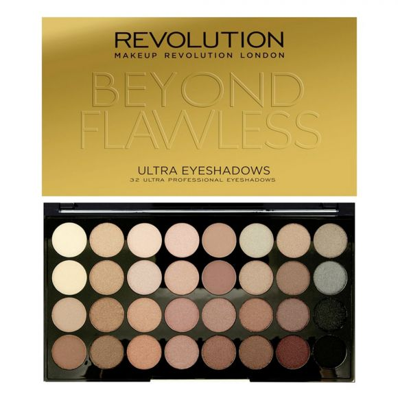 Paleta senki za oči MAKEUP REVOLUTION Beyond Flawless 16g