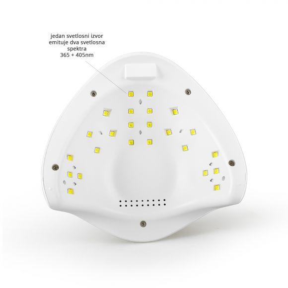 UV i LED lampa za sušenje/polimerizaciju sa Low Heat funkcijom GALAXY300 36W