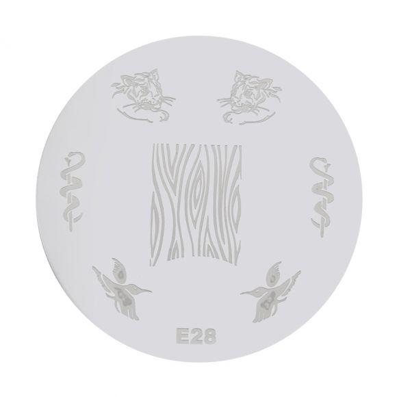 Šablon disk za pečate PMEO1 E28