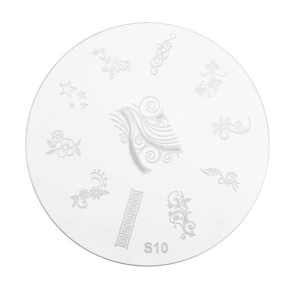 Šablon disk za pečate PMSO S10
