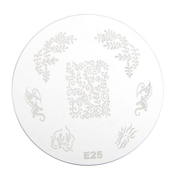 Šablon disk za pečate PMEO1 E25