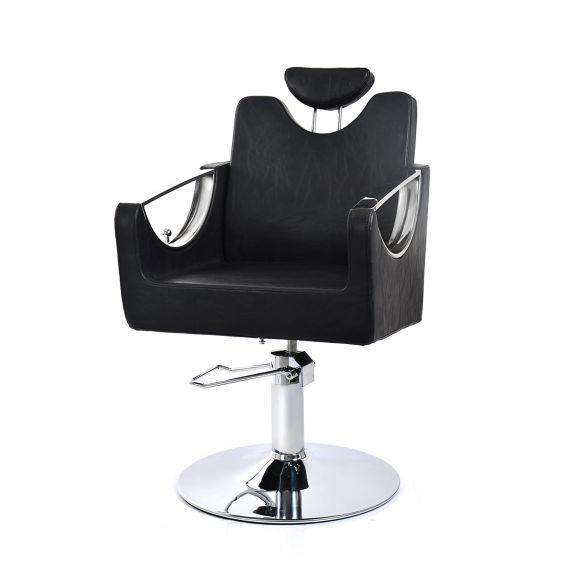 Frizerska radna stolica sa hidraulikom NV-68423 sa podesivim naslonom za leđa i glavu