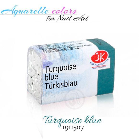 Turquoise blue