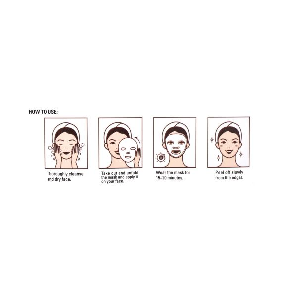 Maska za lice sa aloja verom CALA Aloe Vera Soothing 21g