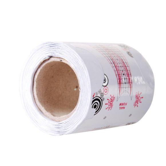 Samolepljivi papirni šabloni za izlivanje noktiju u rolni ASNNF18 100/1