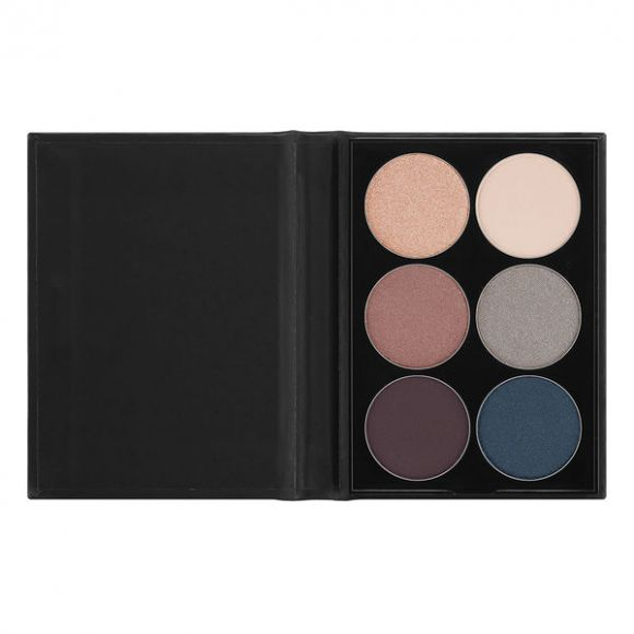 Paleta senki za oči NYX Professional Makeup Beauty School Smokey S146 6x1.7g