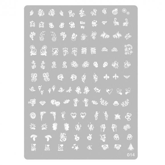 Šablon tabla za pečate PMAG2 14