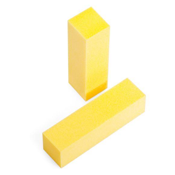 Blok turpija za matiranje noktiju B11 Žuta 100/100
