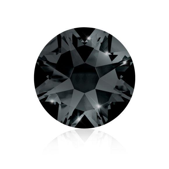 Kristali za nokte SWAROVSKI A 2088 XIRIUS Rose SS16 Jet Hematite 20/1