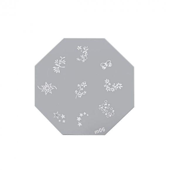 Šablon disk za pečate osmougaoni ASN M06