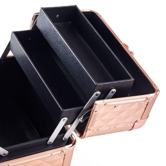 Kozmetički kofer za alat i pribor GALAXY Rose Gold 1271
