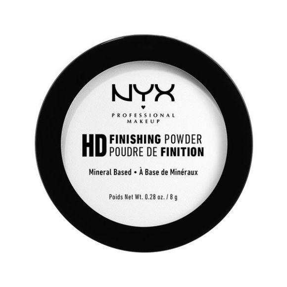 Puder u kamenu za setovanje šminke NYX Professional Makeup Finishing Translucent HDFP02 8g