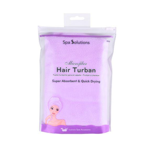 Turban za sušenje kose CALA Lila
