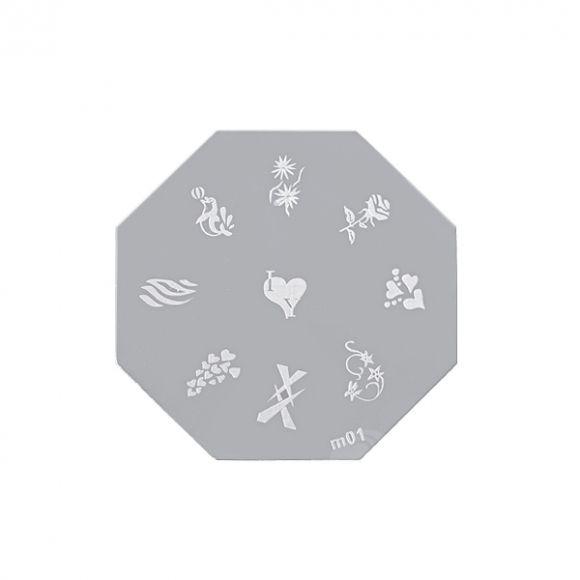Šablon disk za pečate osmougaoni ASN M01
