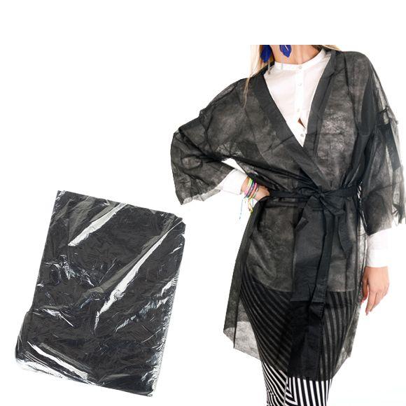 Crni kozmetički kimono od papira ROIAL