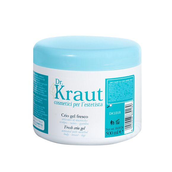 Osvežavajući gel za telo sa mentolom DR KRAUT  500ml