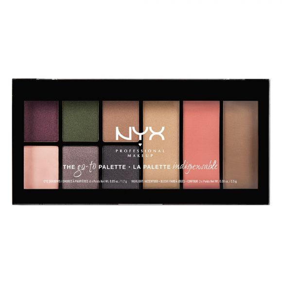 Paleta za šminkanje NYX Professional Makeup Go-To Voyage GTP02