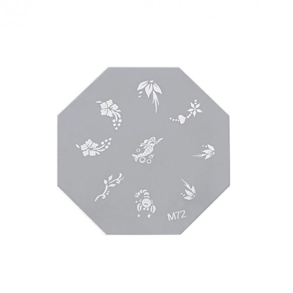 Šablon disk za pečate osmougaoni ASN M72