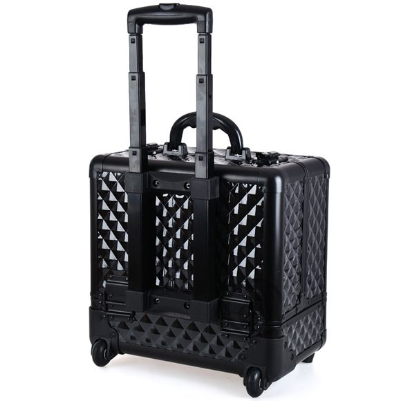 Kozmetički kofer za alat i pribor GALAXY TC-3342BBD crni sa točkićima