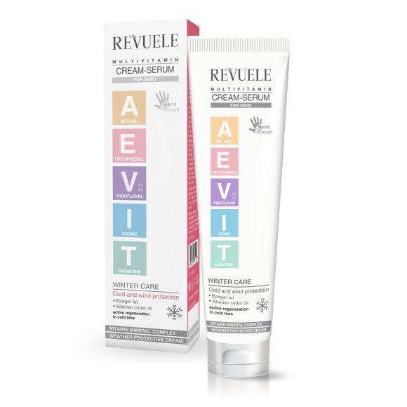 Multivitaminska krema-serum za ruke REVUELE Aevit 75ml