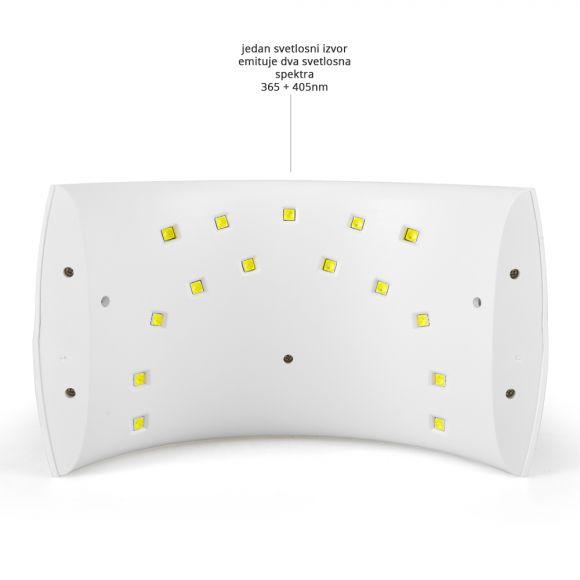 UV i LED lampa za sušenje/polimerizaciju  GALAXY100 24W