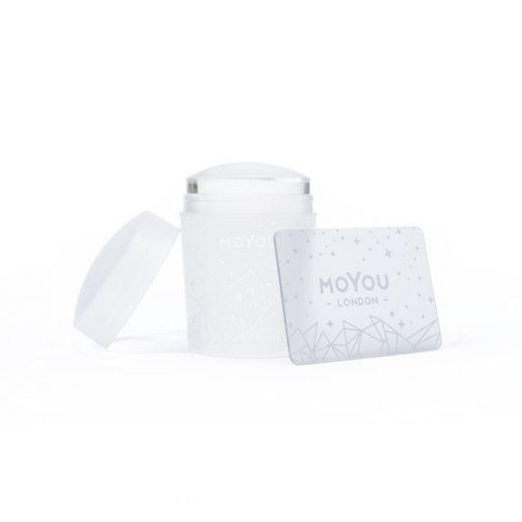Pečat i grebač za Nail Art MOYOU Crystal Clear