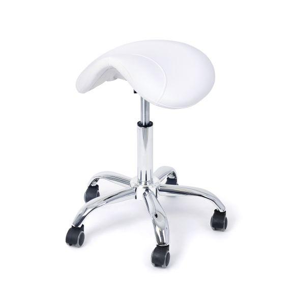 Pomoćna radna stolica DP9909 sa podešavanjem visine i anatomskim sedištem