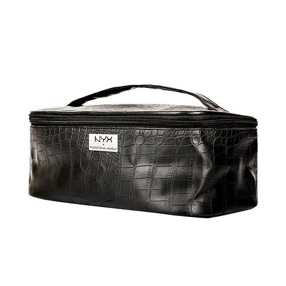 Neseser za šminku NYX Professional Makeup Crni Kroko MBG16