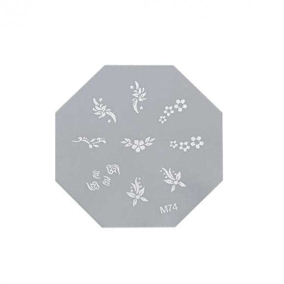 Šablon disk za pečate osmougaoni ASN M74