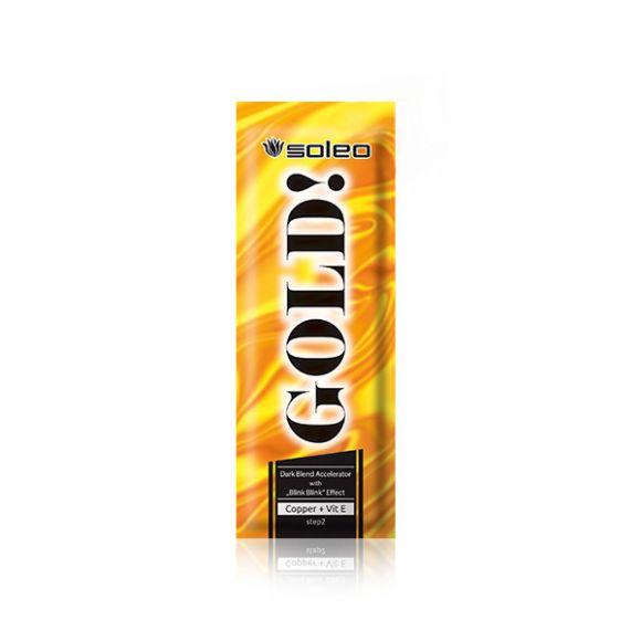 Krema za solarijum SOLEO Gold 15ml