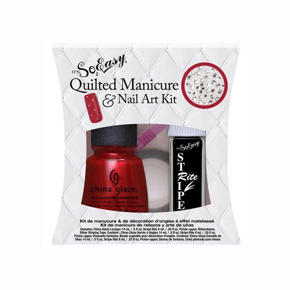 Quilted Manicure za Nail Art u setu IT'S SO EASY 5/1