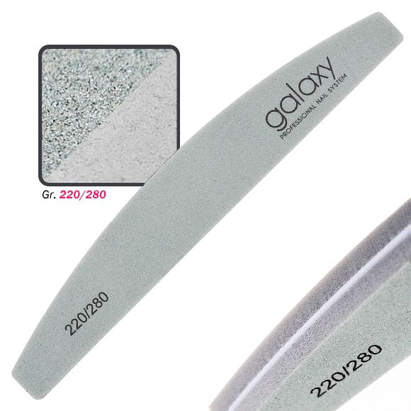 Buffer turpija za matiranje noktiju GALAXY Polumesec 220/280