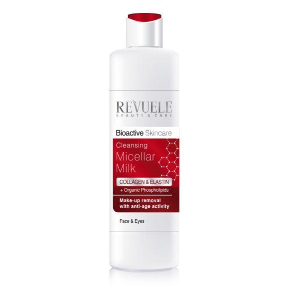 Micelarno mleko za uklanjanje šminke REVUELE Bioactive Collagen&Elastin 200ml