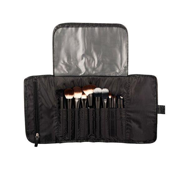 Neseser za četkice NYX Professional Makeup Crni Kroko MBG15