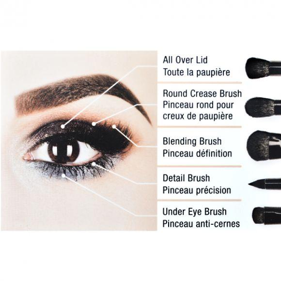 Set četkica za oči NYX Professional Makeup BSET06 5/1