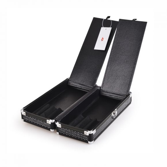 Futrola za četkice GALAXY Crni gliter TC-1410BGB
