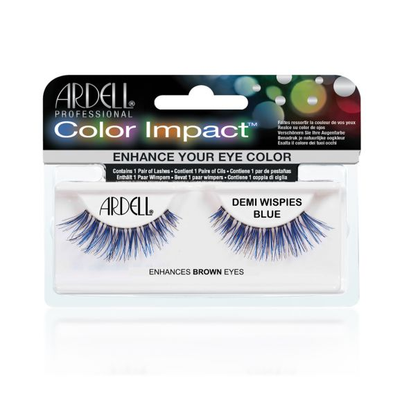 Trepavice ARDELL Color Impact Wispies Plave