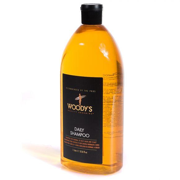 Šampon za normalnu i masnu kosu WOODY'S Daily Shampoo 1000ml