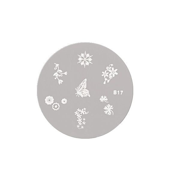 Šablon disk za pečate ASN B17