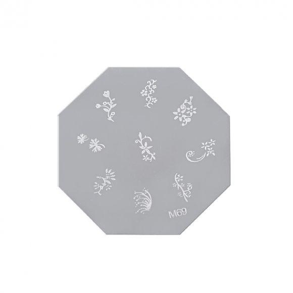 Šablon disk za pečate osmougaoni ASN M69