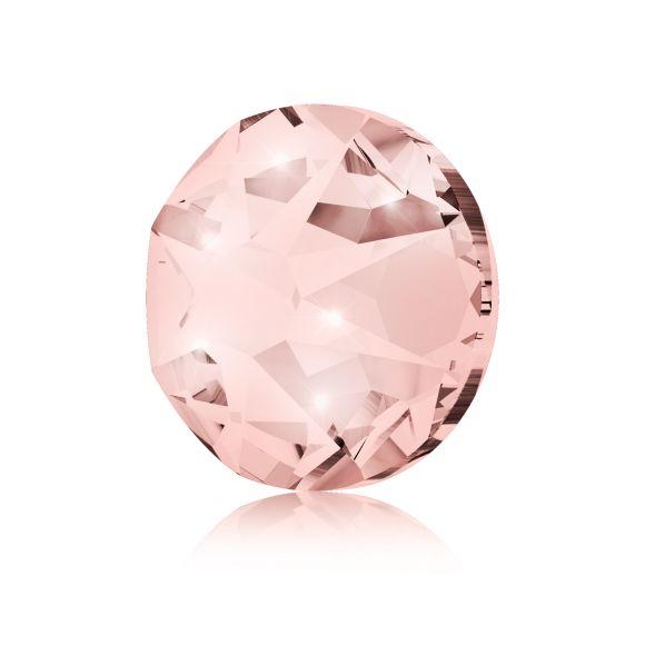 Kristali za nokte SWAROVSKI A 2088 XIRIUS Rose SS12 Vintage Rose 20/1