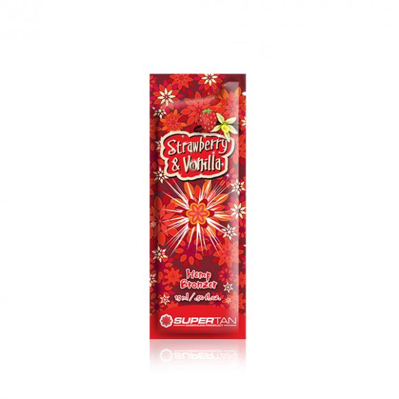 Krema za solarijum SUPERTAN Strawberry&Vanilla 15ml