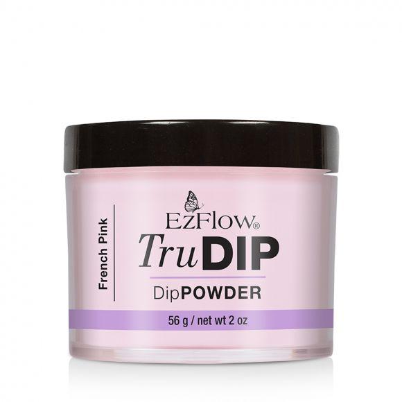 Prah u boji za nadogradnju Dipping tehnikom TruDIP EZFLOW French Pink 56g